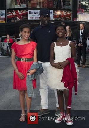 Idris Elba and Guests - UK film premiere of 'World War Z' held at Empire Leicester Square - Arrivals -...