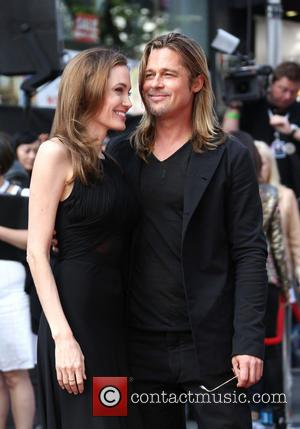 Brad Pitt Joined By Muse For World War Z London Launch