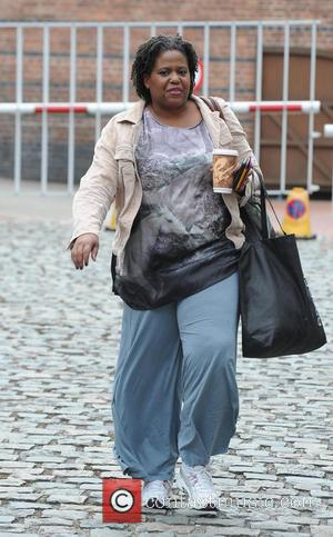 Pamela Nomvete - 'Coronation Street' cast arriving at the Granada studios - Manchester, United Kingdom - Thursday 6th June 2013