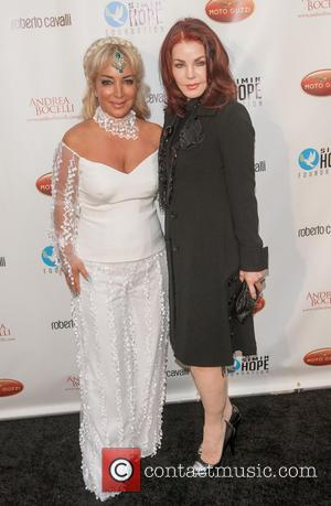 Priscilla Presley and Simin Hashemizadeh