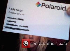 Lady Gaga - Famous Business Cards