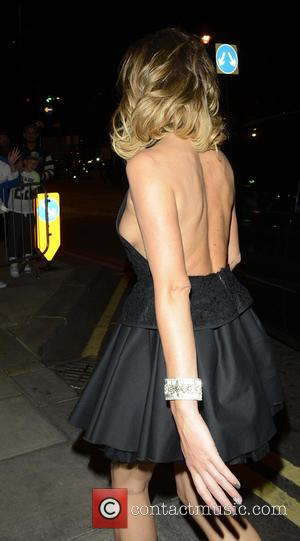 Amanda Holden - Britain's Got Talent wrap party held at...