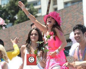 Lisa Vanderpump - Lisa Vanderpump on The SUR Lounge Float at LA Pride Parade - Los Angeles, CA, United States...