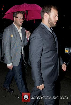 Seth Rogen - Celebrities out and about in New York...