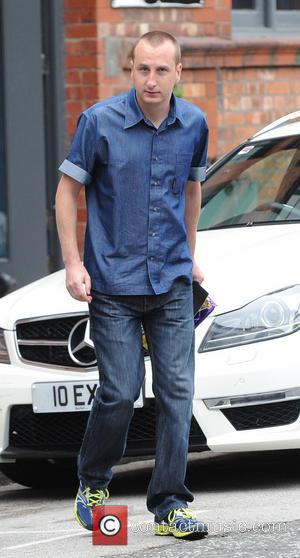Andy Whyment - Coronation Street cast members arrive at the Granada studios - Manchester, United Kingdom - Tuesday 11th June...