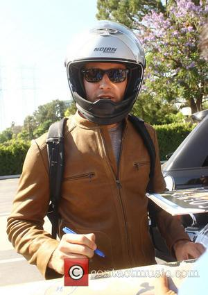 Armie Hammer - Armie Hammer leaves the NBC Studios on...