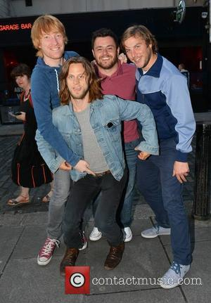 Domhnall Gleeson, Laurence Kinlan, Peter Coonan and Tighe Murphy - The cast of Love/Hate were among guests who attended the...