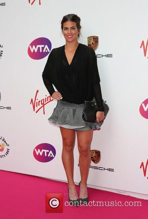 Ajla Tomljanovic - The WTA Pre-Wimbledon Party 2014 presented by Dubai Duty Free held at The Roof Gardens, Kensington -...