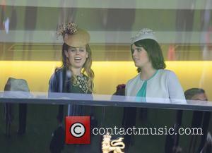 Princess Beatrice - Queen Elizabeth II celebrates winning the Gold...