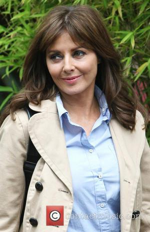 Carol Vorderman - Celebrities outside the ITV studios - London, United Kingdom - Friday 21st June 2013
