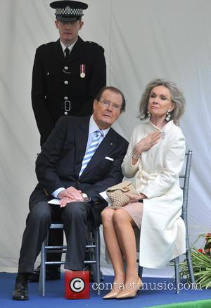 Sir Roger Moore and Kristina Tholstrup