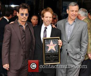 Tom Cruise And Johnny Depp Show The Love For Jerry Bruckheimer