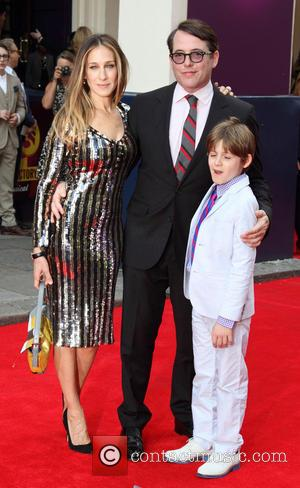 Sarah Jessica Parker, Matthew Broderick and James Wilkie Broderick