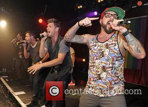 Backstreet Boys, A. J. McLean, Howie Dorough, Nick Carter, Kevin Richardson and Brian Littrell - Backstreet Boys perform at G-A-Y...