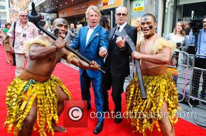 Rick Parfitt and Francis Rossi - Bula Quo! U.K. film premiere at Odeon West End, Leicester Square - Inside Arrivals...