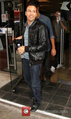 Howie Dorough and Backstreet Boys