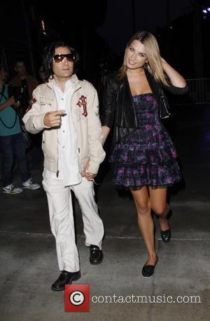 Corey Feldman - Celebrities arrivie to watch Fleetwood Mac in concert at the Staples Center - Los Angeles, California, United...