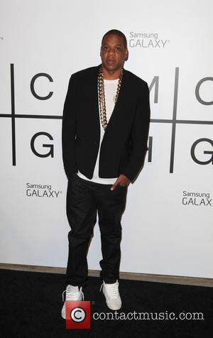 Jay-Z - Jay-Z 'Magna Carta Holy Grail' album release exclusively for Samsung Galaxy at Liberty Warehouse - New York City,...
