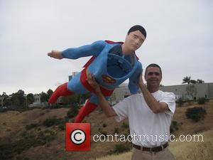 Superman and Otto Dieffenbach