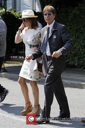 Cliff Richard - Wimbledon Tennis Championship 2013 - Day 11 - Celebrity Sightings - London, United Kingdom - Thursday 4th...