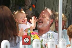 Kelsey Grammer and Faith Evangeline Elisa Grammer