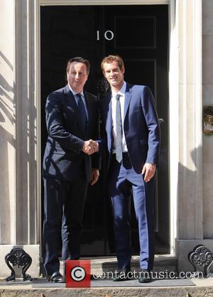 Andy Murray and David Cameron