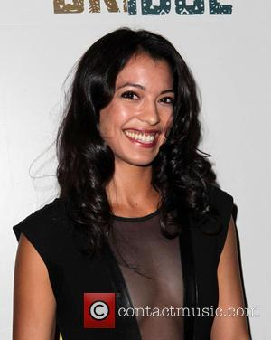 Stephanie Sigman - Premiere of FX's 'The Bridge' at DGA Theater - Arrivals - Los Angeles, California, United States -...