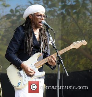 Nile Rodgers Nearly Crushed By Falling Painting