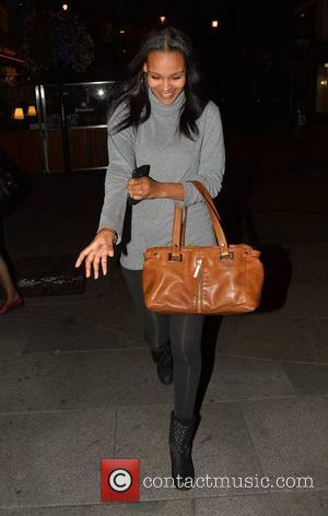 Samantha Mumba - Singer Samantha Mumba seen leaving Harry's Bar with mother Barbara and brother Omero - Dublin, Ireland -...