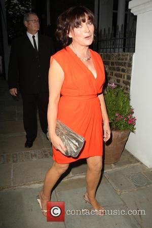 Lorraine Kelly - Celebrities leaving the ITV Summer Party held at a private house in Notting Hill - London, United...