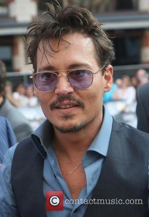 Johnny Depp - Disney's 'The Lone Ranger' UK  Film...