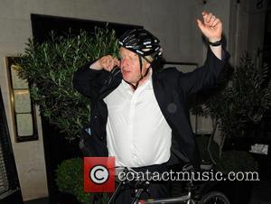 Boris Johnson - Boris Johnson Leaves Scotts Restaurant