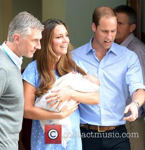 Royal Couple Leave London Hospital With Baby Son