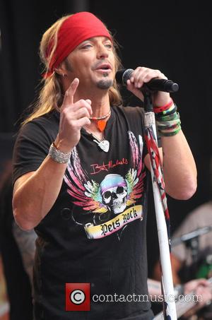 Bret Michaels - Bret Michaels performs during 'FOX & Friends' All American Concert Series outside of FOX Studios - New...