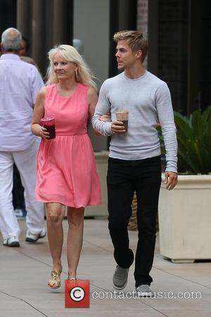 Derek Hough and Shirley Ballas - Derek Hough and his mother Shirley Ballas out together at The Grove - Los...