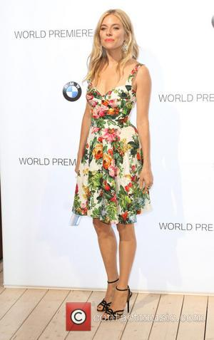 Sienna Miller - BMW i3 global reveal party held at the Old Billingsgare market - Arrivals - London, United Kingdom...