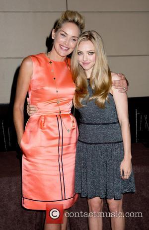 Sharon Stone and Amanda Seyfried - NYC