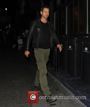 Gerard Butler - Gerard Butler walks through Soho to Groucho Club - London, United Kingdom - Wednesday 31st July 2013