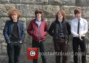 The Strypes, Ross Farrelly, Pete O'hanlon, Josh Mcclorey and Blur