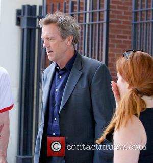 Hugh Laurie - Hugh Laurie seen in New York City - New York City, NY, United States - Monday 5th...