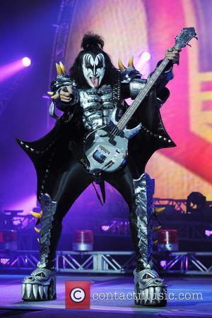 Gene Simmons - KISS performing live in concert at the Lakeland Civic Center in Lakeland, Florida - Lakeland, Florida, United...