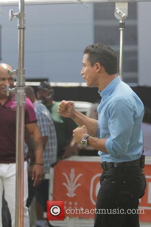 Mike Tyson and Mario Lopez
