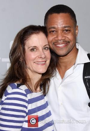 Hallie Foote and Cuba Gooding Jr