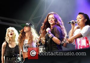 Little Mix - Little Mix Performing at The Pier Head, Liverpool for The Liverpool International Music Festival 2013 - Liverpool,...