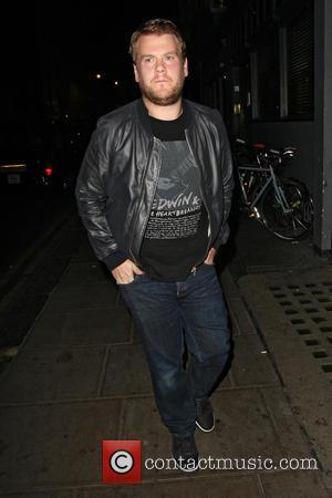 James Corden - Celebrities at Groucho Club