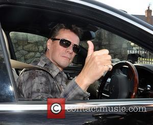 Larry Mullen - Guests including U2 manager Paul McGuinness, Drummer Larry Mullen and The Edge seen leaving the home of...