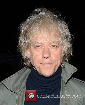 Bob Geldof - Guests at RTE studios for The Late...