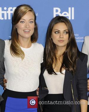 Olivia Wilde and Mila Kunis