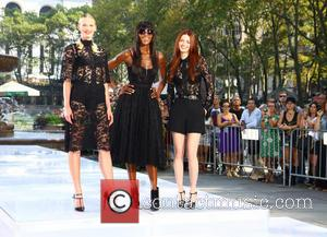 Naomi Campbell and Anne V