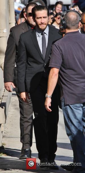 Jake Gyllenhaal - Jake Gyllenhaal outside the Jimmy Kimmel Live...